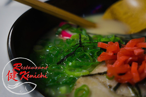 image of ramen made by Restaurant Kenichi in Hilo