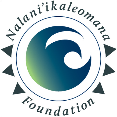 Logo for Nalaniikaleomana foundation